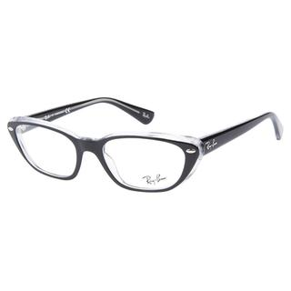 Ray-Ban RB5242 2034 Top Black Transparent Prescription Eyeglasses