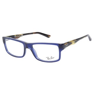 Ray-Ban RB5245 5056 Transparent Dark Blue Prescription Eyeglasses
