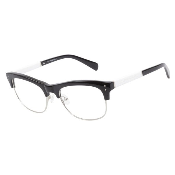 joseph marc 4115 black prescription eyeglasses overstock