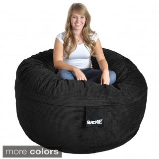 Slacker Sack 5-foot Round Corduroy Bean Bag Chair