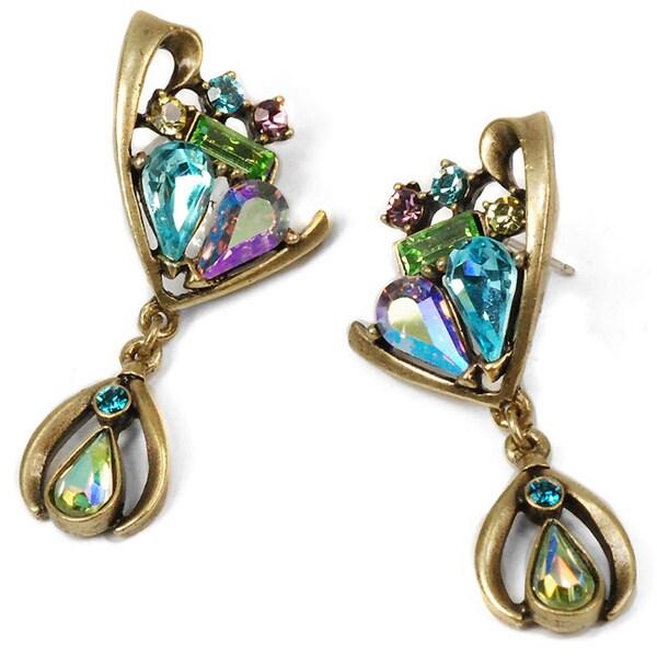 Sweet Romance Harlequin Earrings