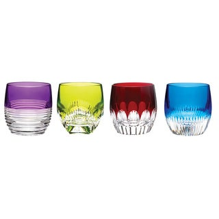 Waterford Mixology Double Old Fashioned in Mixed Colors (Set of 4)