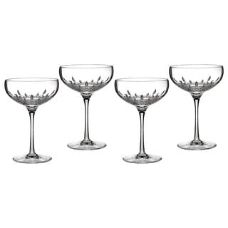 Waterford Lismore Essence Champagne Saucer (Set of 4)