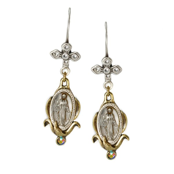 Sweet Romance Lady of Hope Earrings