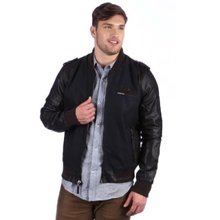 Members Only Men's Two-tone Baseball Jacket