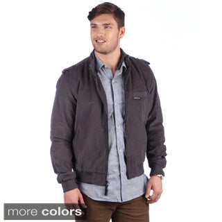 Members Only Men's Corduroy Racer Jacket