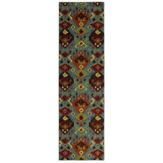 Karastan Panache Switchback Sagebrush Green (2'4 x 8'3)