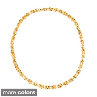 Simon Frank Double Weave Turkish Chain Necklace