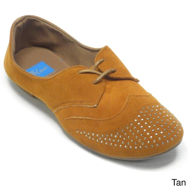 Blue Women's 'Hallster' Studded Oxford Shoes