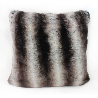 Austin Horn Classics Lyon Luxury Fur Decorative Pillow