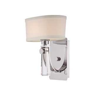 Quoizel Uptown Bowery 1-light Imperial Silver Wall Sconce