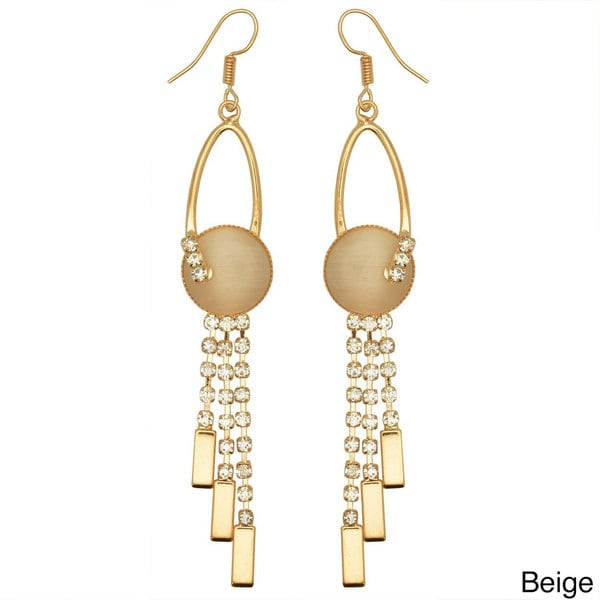 Kate Marie 'Channel' Fascinating Look Dangle Earrings