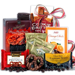 Coffee and Chocolates Gift Stack