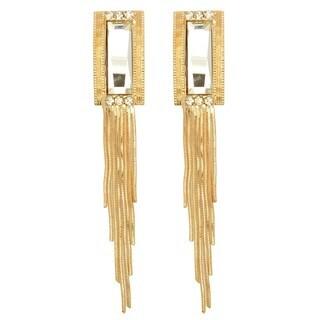 Kate Marie 'Crystal' Elegant Look Dangle Earrings