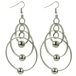 Kate Marie 'Beyonce' Distinguished Look Dangle Earrings