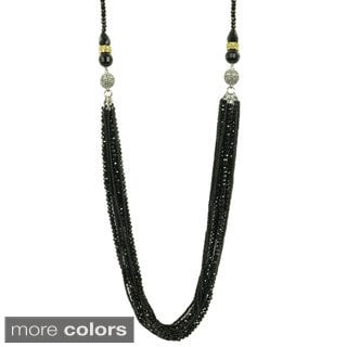 Kate Marie 'Demi' Beaded 3-way Fashion Necklace