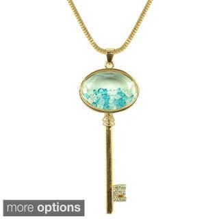 Kate Marie 'Alma' Colorful Key Fashion Necklace