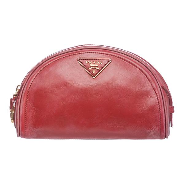 Prada 1N1772 2E9O F0011 Vintage Vitello Cosmetic Bag