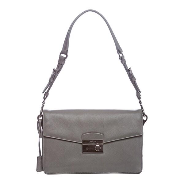 Prada BR5026 2A4B F0K44 Saffiano Soft Sound Bag - 15878266 ...