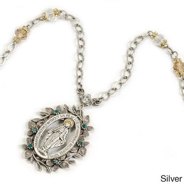 Sweet Romance Lady of Miracles Necklace
