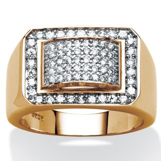 PalmBeach 1.05 TCW Men's Cubic Zirconia Ring