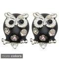 Kate Marie 'Owl'Cute Look Fashion Earrings, Stud Design