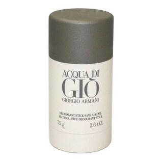 Giorgio Armani 'Acqua Di Gio' Men's Deodorant Stick 2.6-ounce Alcohol-free
