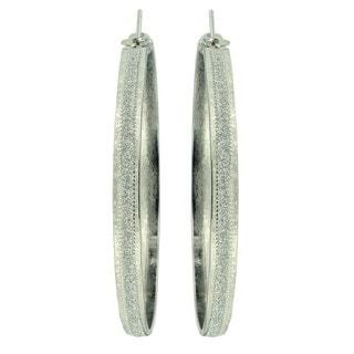Kate Marie 'Acacia' Modish Fashion Hoop Earrings
