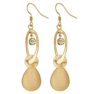 Kate Marie 'Cara' Rhinestone Dangle Fashion Earrings