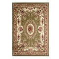 Traditional Aubusson Andrea Sage Area Rug (5'3 x 7'7)