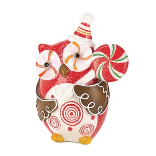 Sugary Sweet Holiday Owl Decor