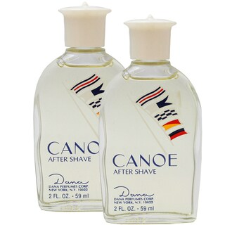 Dana Canoe Men's Pack of Two 2-ounce Aftershave (Unboxed)