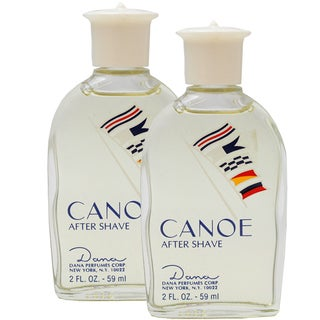 Dana 'Canoe' Men's Pack of Two 2-ounce Aftershave (Unboxed)