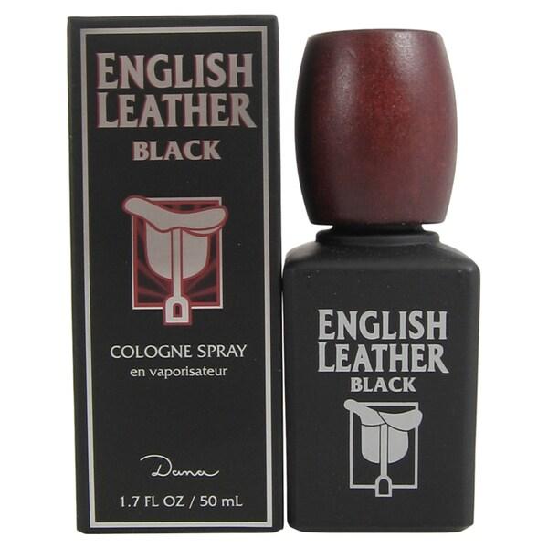Dana English Leather Black Men's 1.7-ounce Cologne Spray