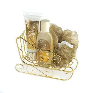 Golden Sleigh Bath Gift Set