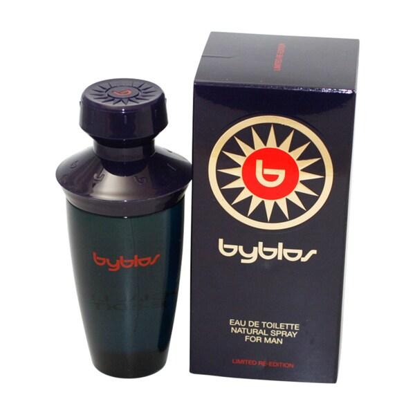Byblos Men's 3.37-ounce Eau de Toilette Spray Limited Re-edition