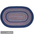Tahoe Wool Blend Braided Area Rug (10' Round)