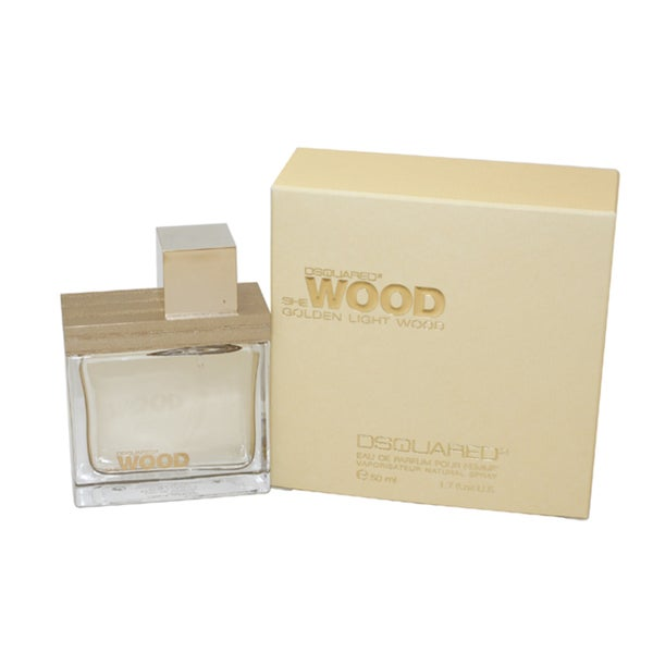 Dsquared2 She Wood Golden Light Wood Women's 1.7-ounce Eau de Parfum Spray