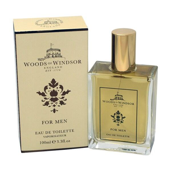 Woods Of Windsor 'Woods Of Windsor' Men's 3.3-ounce Eau De Toilette Spray