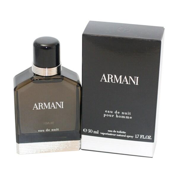 Armani Eau de Nuit Men's 1.7-ounce Eau de Toilette Spray