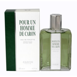 Caron 'Pour Un Homme' Men's 4.2-ounce Eau De Toilette Spray