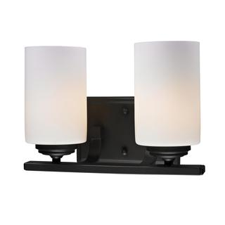 Z-Lite Oil Rubbed Bronze 2-light Wall Sconce