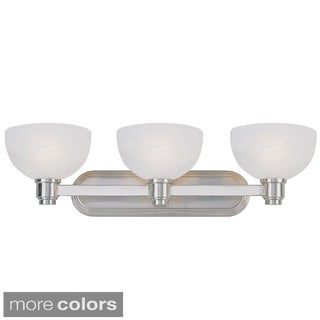Z-lite Modern 3-light Frosted Glass Vanity Fixture