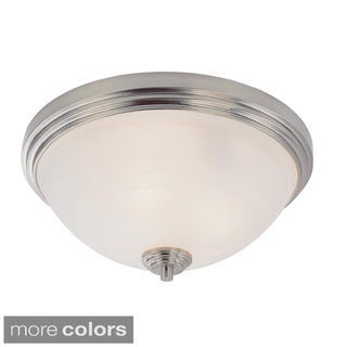 Z-lite Minimalist 2-light Flush Mount Pendant