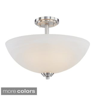Z-lite Minimalist 3-light Semi-flush Mount Pendant