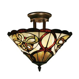 Z-Lite 3-light Semi Flush Mount Lamp