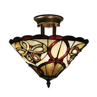 Z-Lite 3-light Semi Flush Mount Lamp