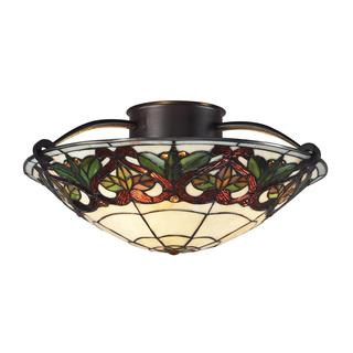 Z-Lite Chestnut Bronze 3-light Ceiling