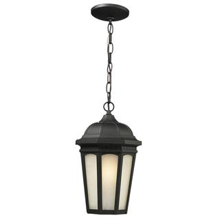 Avery Home Lighting Outdoor Chain Light with White Seedy Glass