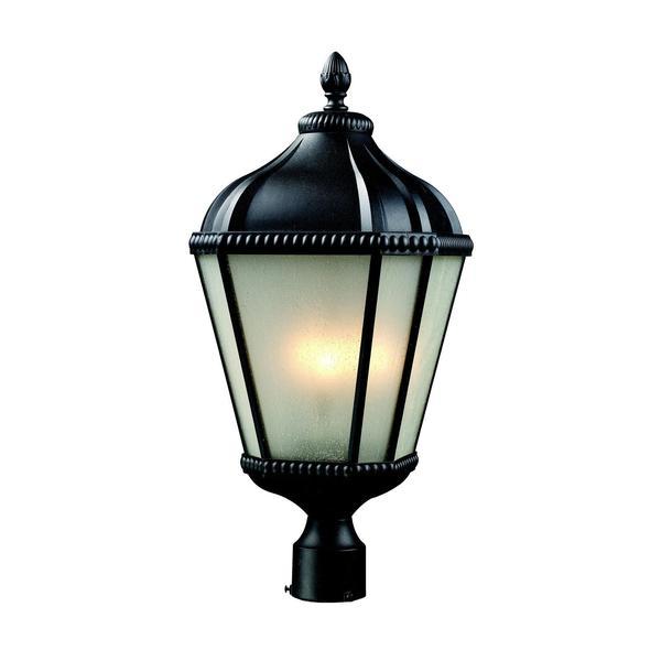 Z-Lite Black Outdoor Post Light